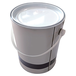 Tin can in cylindrical shape